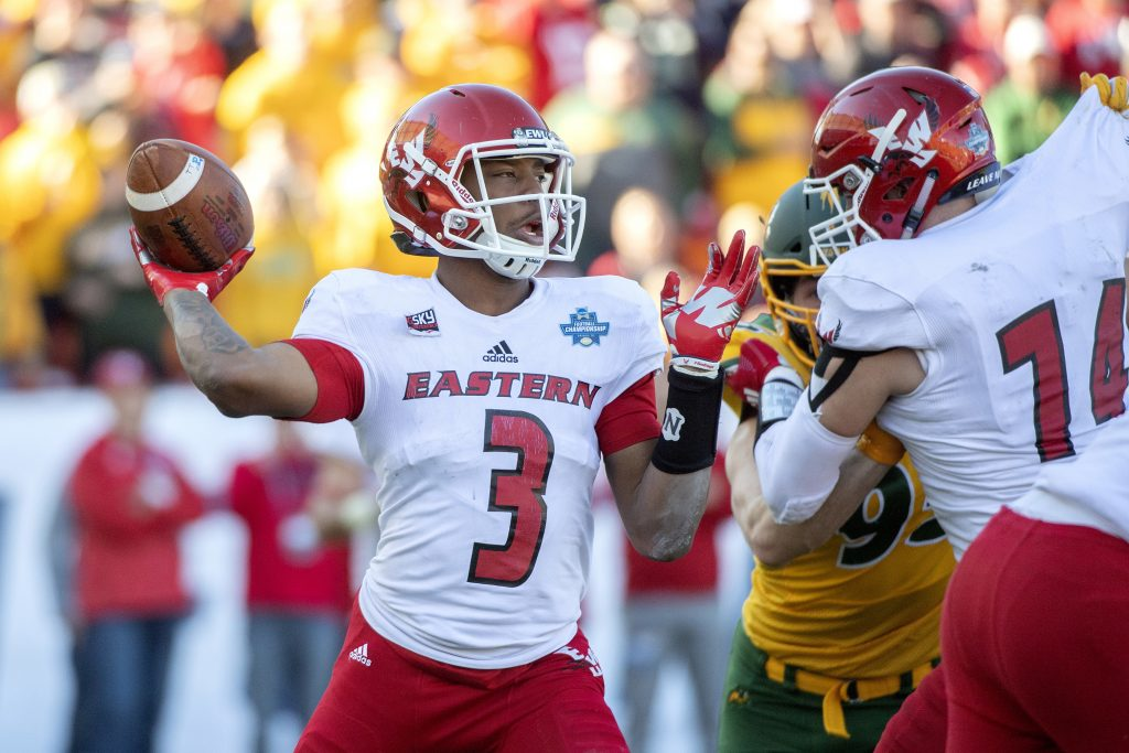 Five Collect Stats Perform FCS Week 5 National Honors
