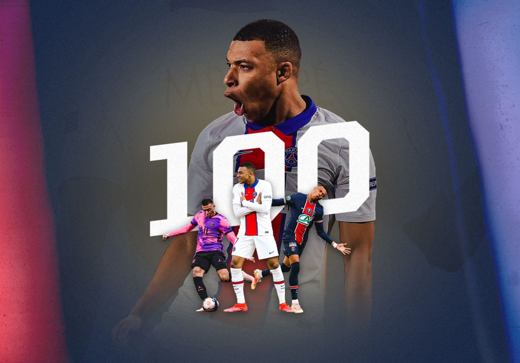 Tales of the Century: Kylian Mbappé Hits 100 Ligue 1 Goals
