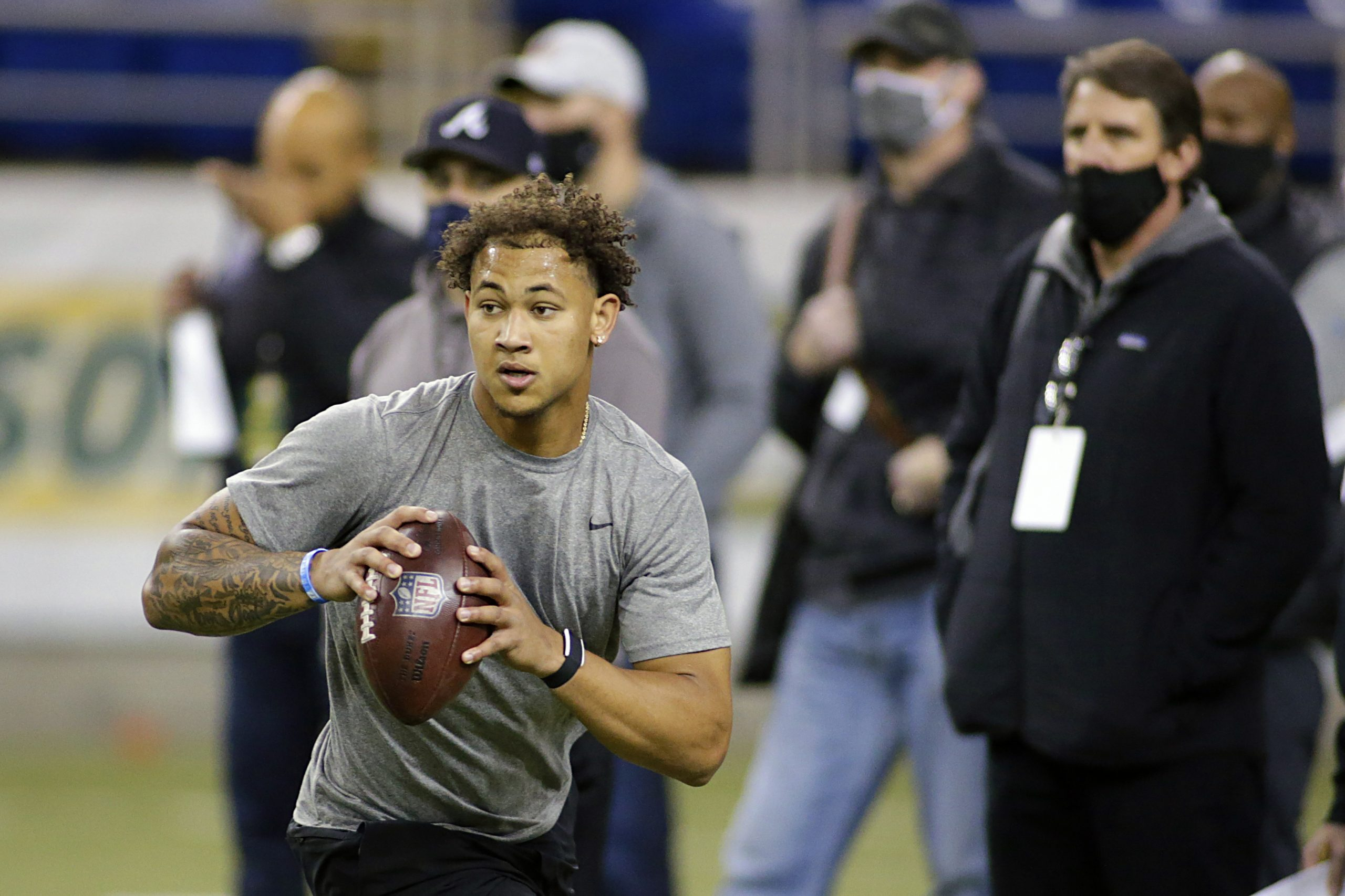 Top 10 QB Prospect Trey Lance Pleased With Pro Day