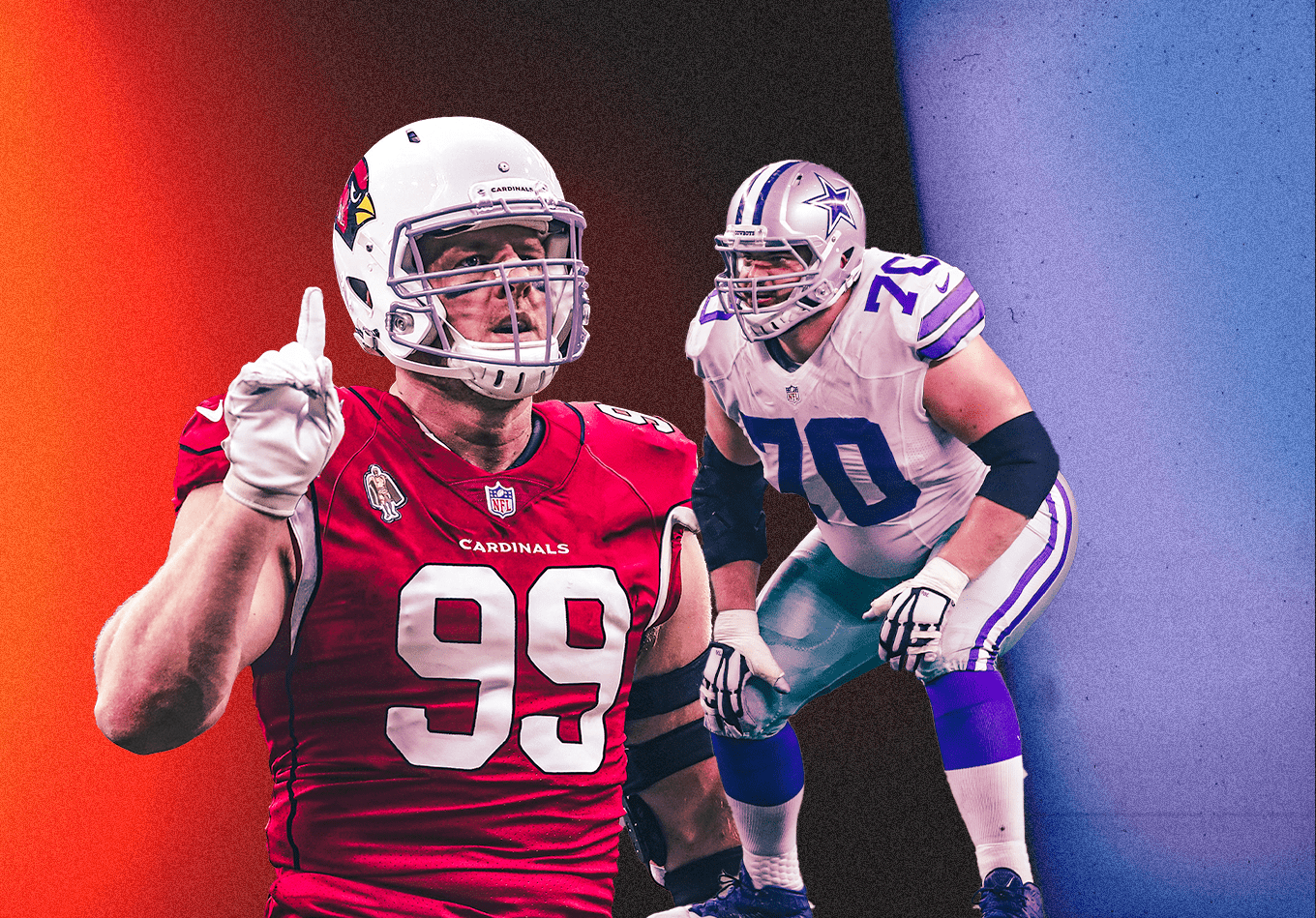Which Linemen Are the NFL's Best on Both Sides of the Run Game?