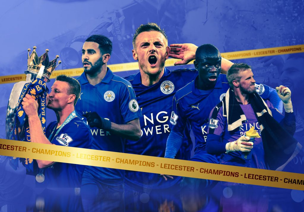 Jamie Vardy's Having an Anniversary Party: Leicester City's 5,000-to-1 Premier League Title Five Years On