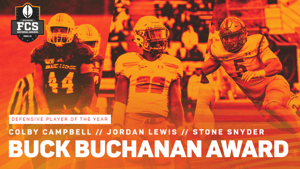 Campbell, Lewis, Snyder Invited to Buck Buchanan Award Announcement