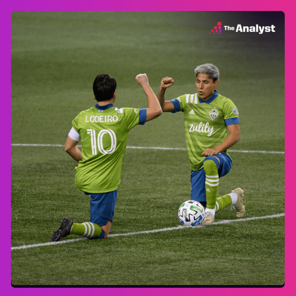 Lodeiro and Ruidiaz for Seattle Sounders