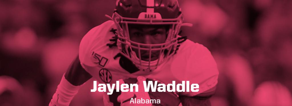 Jaylen Waddle header