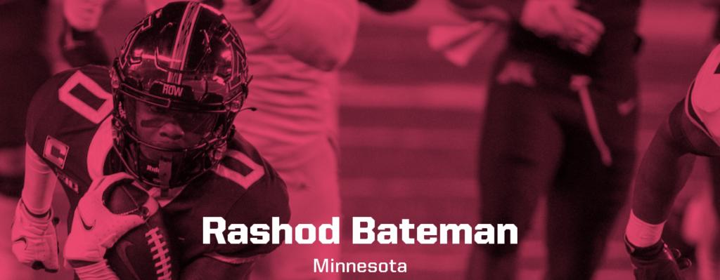 Rashod Bateman, Minnesota
