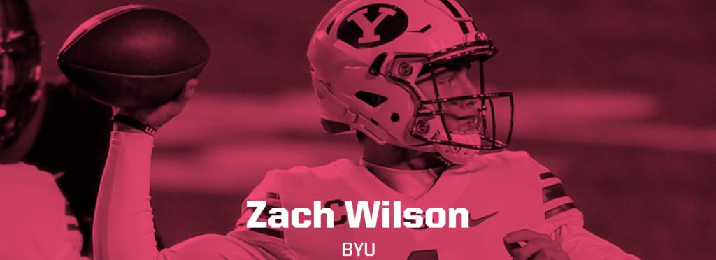 Zach Wilson graphic