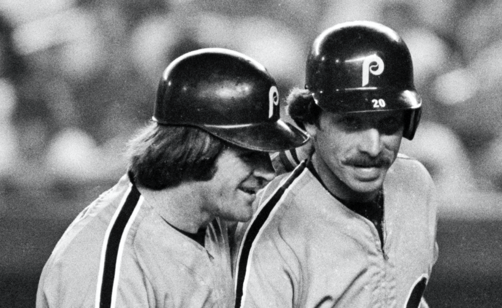 Mike Schmidt and Pete Rose