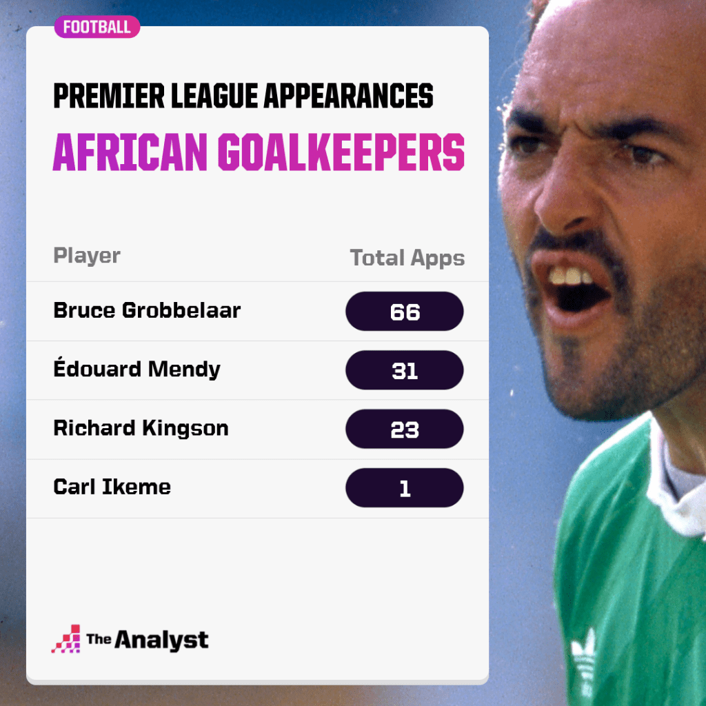 african goalkeepers to play in the premier league