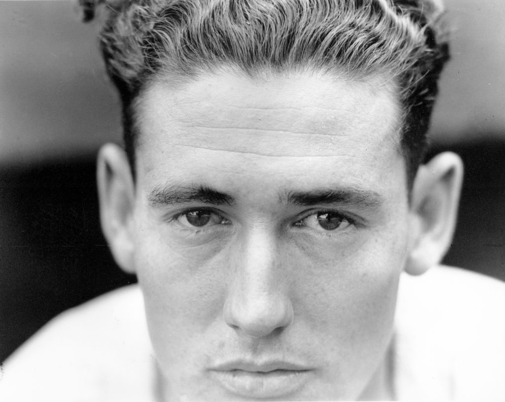 Ted Williams of the Boston Red Sox in 1941
