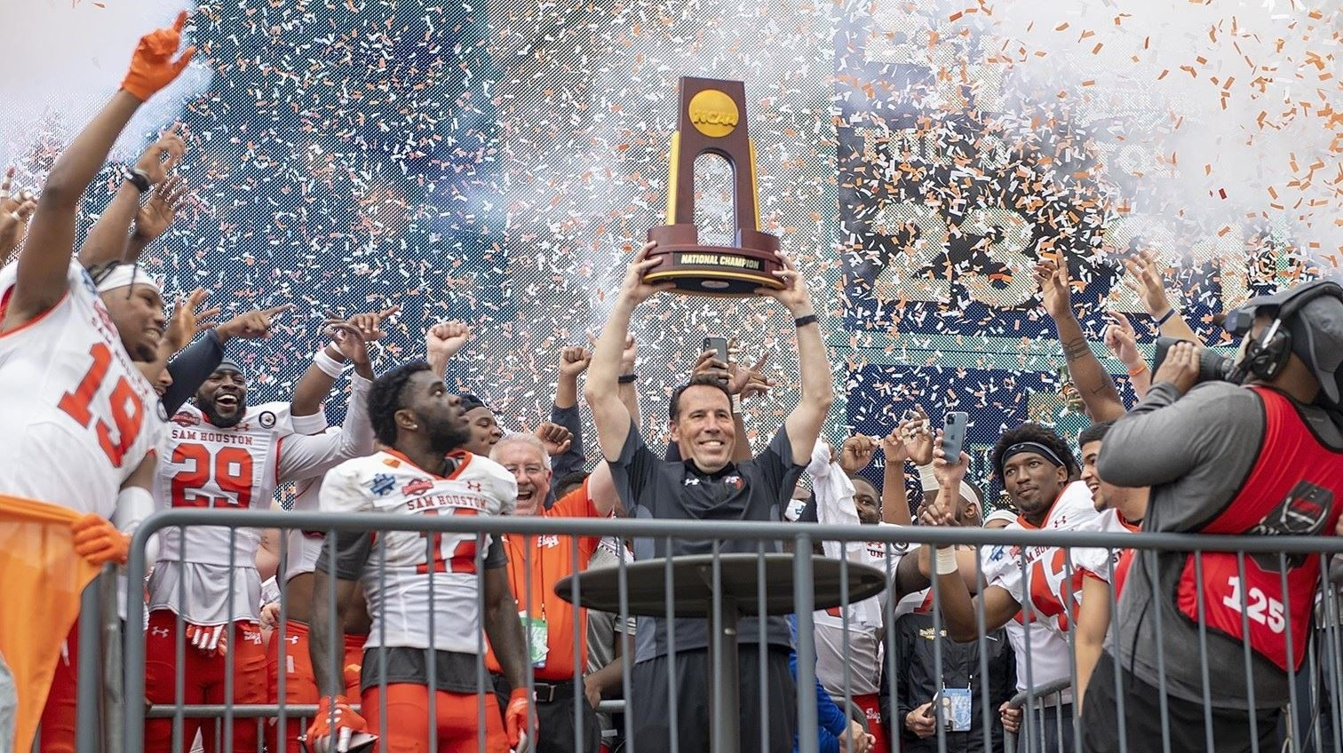 Sam Houston a Unanimous No. 1 in Final Stats Perform FCS Top 25