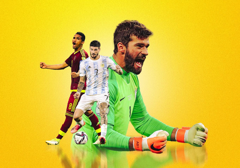 Seis jugadores claves que no te podés perder en la Copa América