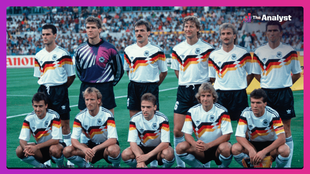 West Germany 1990 world cup