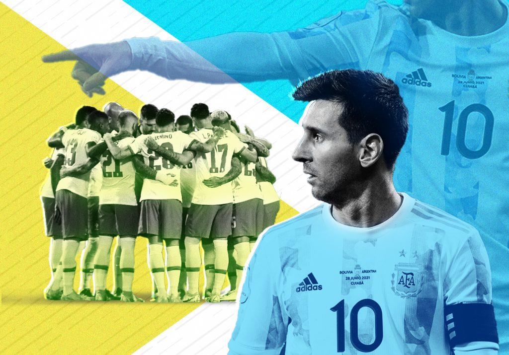 El sistema y la genialidad: ¿en qué se diferencian Brasil y Argentina en la Copa América?