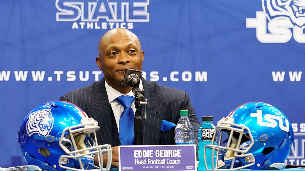 As Ohio Valley Conference Turns the Page, Eddie George Seeks Winning Story at Tennessee State