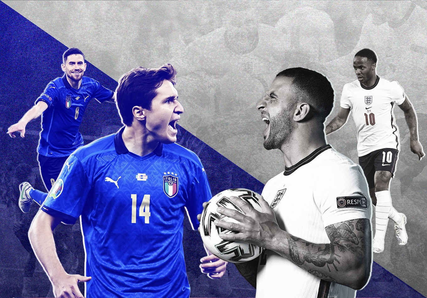 How to Press Italy, Disrupting Jorginho and the Danger of Chiesa: 3 Elements That Could Decide Euro 2020 Final
