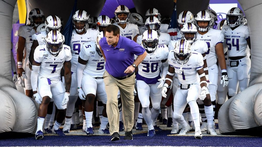James Madison Embraces the Bull's-Eye in CAA Football