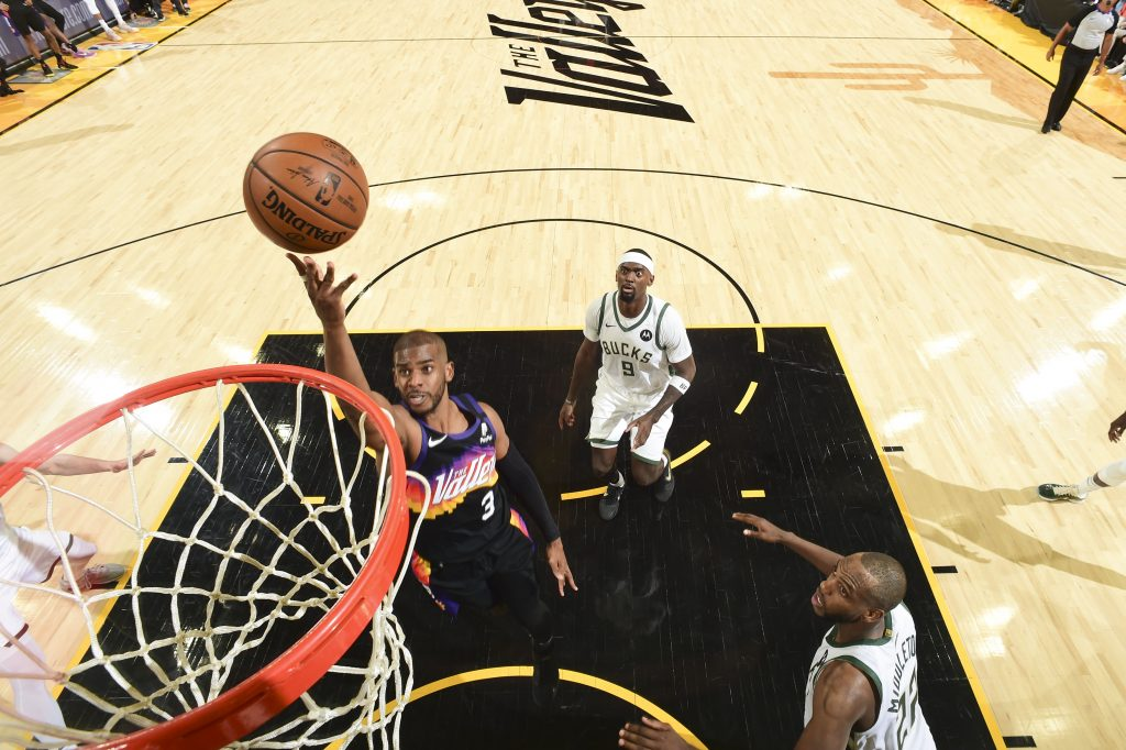 The Data Day at the NBA Finals: No. 1
