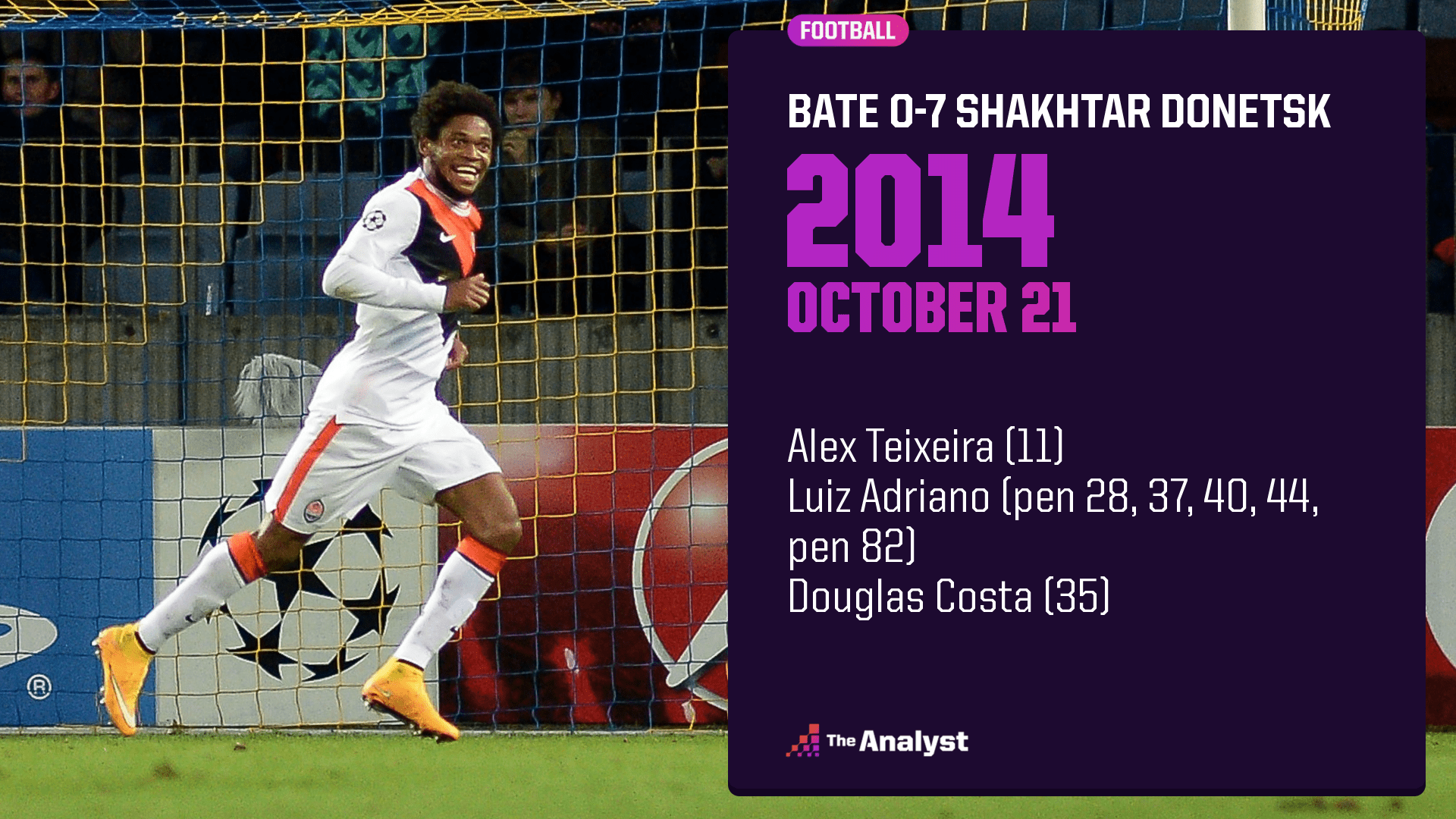 Bate 0-7 Shakhtar