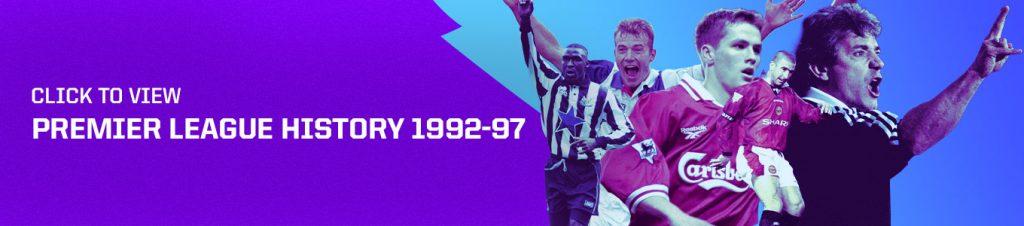 Premier League history banner 1