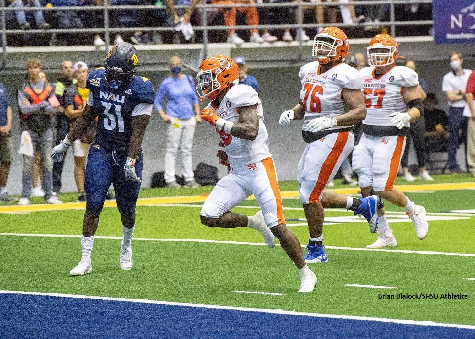 Who's No. 1? Sam Houston, but Other Powers Have Case in FCS Top 25