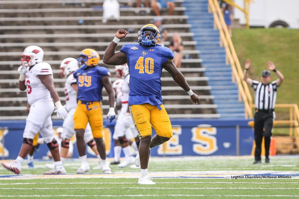 McNeese, Four Players Collect FCS Week 8 National Awards