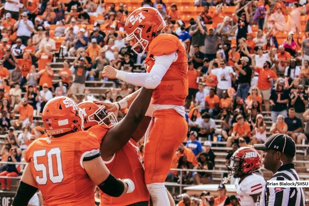 Sam Houston Clear-Cut No. 1 in Stats Perform FCS Top 25 Rankings